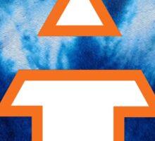 Auburn University Tie Dye Logo Sticker