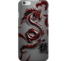 Spirit of The Red Dragon iPhone Case/Skin