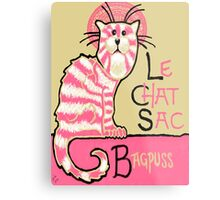 Le Chat Sac Metal Print