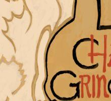 Le Chat Grincheux Sticker
