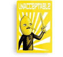Unacceptable, 2014 Metal Print