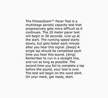 The FitnessGram™ Pacer Test Unisex T-Shirt