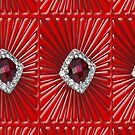 Red Pattern with a ruby  (2711 views) by aldona