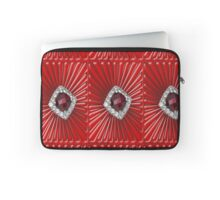 Red Pattern with a ruby  (2738 views) Laptop Sleeve