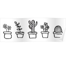CUTE PLANTS Poster
