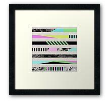Crazy Lines Framed Print