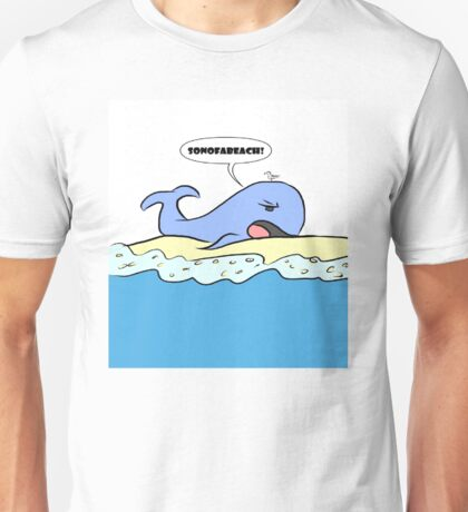 Beached Whale Unisex T-Shirt