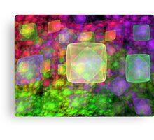 Cube Galaxies Canvas Print