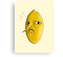Lemongrab, 2014 Canvas Print