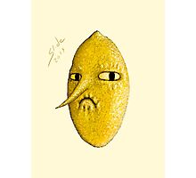 Lemongrab, 2014 Photographic Print
