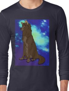Cappuccino The Wolf Long Sleeve T-Shirt