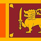 Sri Lanka flag Products by Mark Podger