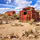 Old Caboose At Rhyolite by James Eddy