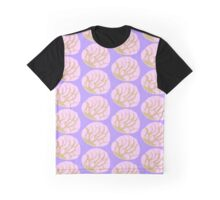 Strawberry Concha Bread Graphic T-Shirt