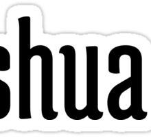 Joshua 1:9 Sticker