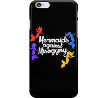 Mermaids against misogyny  iPhone Case/Skin