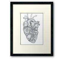 heart-work Framed Print