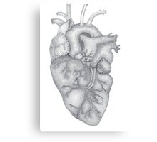 heart-work Canvas Print