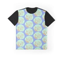 Mint Concha Bread Graphic T-Shirt