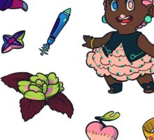 tiny space adventurers sticker pack Sticker