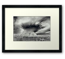 Apocalyptic Clouds Framed Print