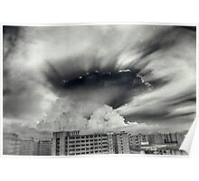 Apocalyptic Clouds Poster
