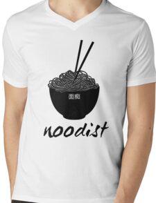 "Noodist - ""Crazy for Noodles"" Mens V-Neck T-Shirt"