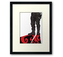 WS  Framed Print