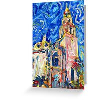 Balboa Park San Diego California Picture Greeting Card