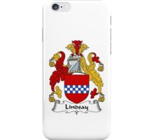 Lindsay Coat of Arms / Lindsay Family Crest iPhone Case/Skin