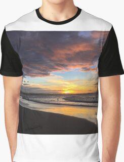 Sunset over Rainbow Bay Graphic T-Shirt