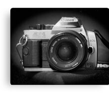 Canon Hybrid AE-1/ Rebel XT (F/DSLR) Canvas Print