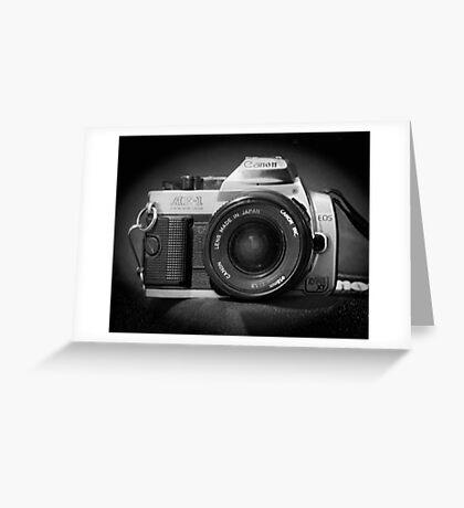 Canon Hybrid AE-1/ Rebel XT (F/DSLR) Greeting Card