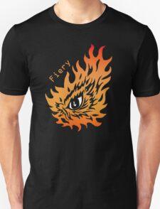 Fiery eye Unisex T-Shirt