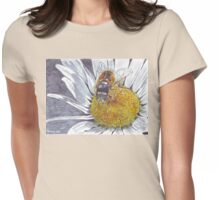 The Hoverfly and the Daisy Womens Fitted T-Shirt