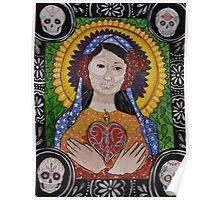 Sugar Skull Madonna Poster