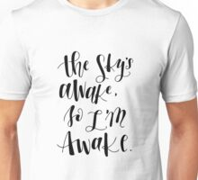 The Sky's Awake Unisex T-Shirt
