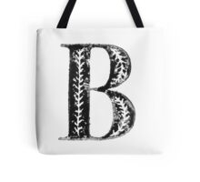Serif Stamp Type - Letter B Tote Bag