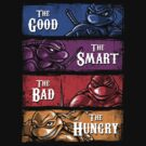 The Good, The Smart, The Bad, and The Hungry by Punksthetic