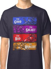 The Good, The Smart, The Bad, and The Hungry Classic T-Shirt