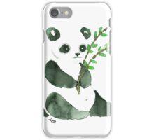 cute ink panda iPhone Case/Skin