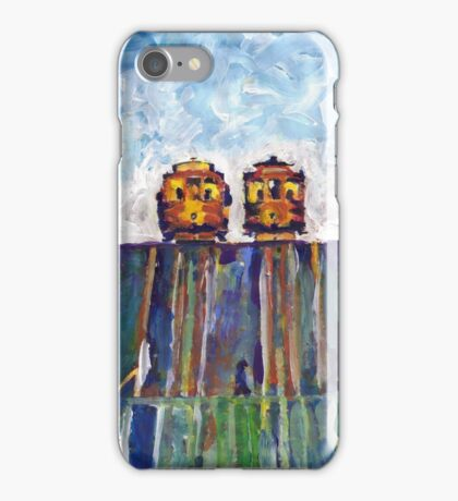Cable Cars Picture San Francisco California iPhone Case/Skin