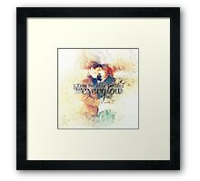 Everglow Framed Print