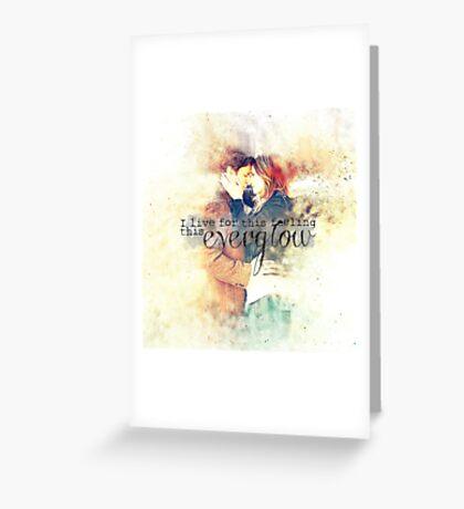 Everglow Greeting Card