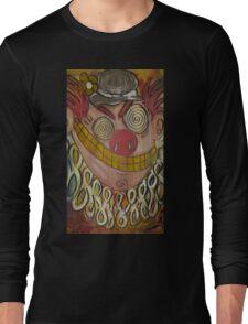 Crazy Carnie Clown Long Sleeve T-Shirt
