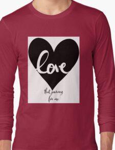 Schitt's Creek Long Sleeve T-Shirt