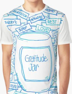 Gratitude Jar Graphic T-Shirt