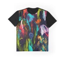 Abstract Blossoms Graphic T-Shirt