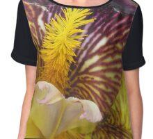 Colorful Iris  Chiffon Top