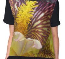 Colorful Iris  Women's Chiffon Top